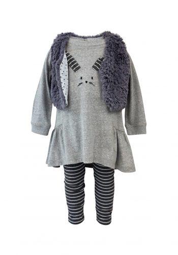 girls-fake fur jacket-8-set